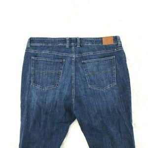 Lucky Brand Emma Straight Women Jeans Sz 22W CD24
